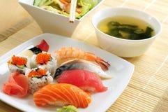 De lunch van sushi Stock Foto's