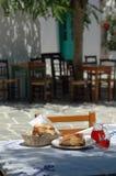 De lunch van Taverna Stock Afbeelding