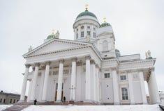 De Lutheran Kathedraal in Helsinki Stock Afbeelding