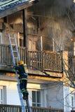 De lutte contre l'incendie Photos stock
