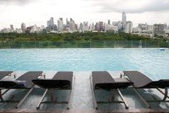De Luxe van de pool royalty-vrije stock foto