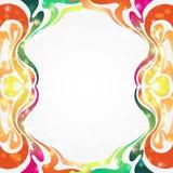 De luxeachtergrond van de regenboogkleur Royalty-vrije Stock Foto