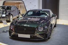 De luxeauto van Bentley Continental GT Convertible royalty-vrije stock afbeeldingen
