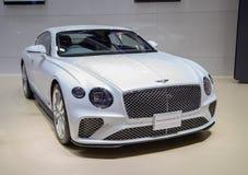 De luxeauto van Bentley Continental GT stock afbeelding