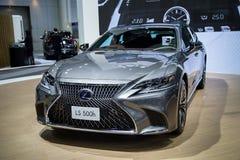 De Luxeauto van Lexus LS 500h stock afbeelding