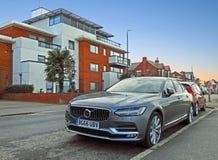 De luxeauto van Volvo s90 d4 Stock Afbeeldingen