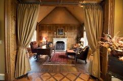 De luxueuze ruimte van het huisbureau Stock Afbeeldingen