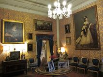 De luxueuze Zaal van het Paleis Royalty-vrije Stock Foto