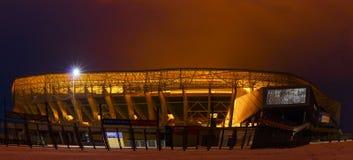` De Lviv da arena do ` do estádio de futebol em Lviv, Ucrânia Imagens de Stock Royalty Free