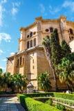 De Màlaga Catedral de la Encarnacion wurde im Jahre 1782 errichtet Es ist eine der größten Kathedralen herein lizenzfreies stockfoto
