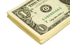 De många dollarna pengar Arkivfoton