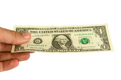 De många dollarna pengar Fotografering för Bildbyråer