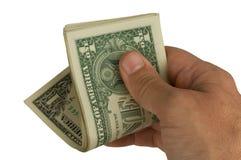 De många dollarna pengar Royaltyfria Bilder