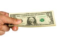 De många dollarna pengar Royaltyfri Fotografi