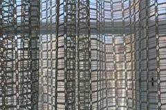 De många lilla cellerna av gardinen arkivbild
