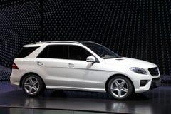 De m-Klasse SUV van Benz van Mercedes Stock Afbeeldingen