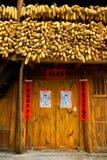 De maïskolf & de Boerderij van Ncorn Royalty-vrije Stock Foto's