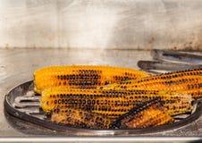 De maïskolven pitten pelden geroosterd royalty-vrije stock afbeelding