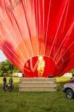 De maagdelijke Hete Luchtballon stock afbeelding