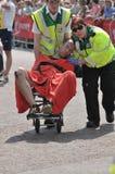 De maagdelijke Marathon 2011 van Londen Stock Fotografie