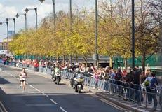 De maagdelijke Marathon 2012 van Londen - Merrien Stock Foto's