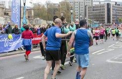 De maagdelijke Marathon van Geldlonden 24 April 2016 Royalty-vrije Stock Fotografie