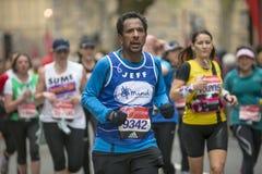 De maagdelijke Marathon van Geldlonden 24 April 2016 Stock Foto