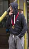 De maagdelijke Marathon van Geldlonden 24 April 2016 Stock Foto's