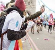 De maagdelijke Marathon van Geldlonden 24 April 2016 Stock Fotografie