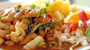 De maaltijd van Azië stock afbeelding