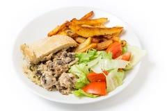 De maaltijd van de kippenpudding Royalty-vrije Stock Foto