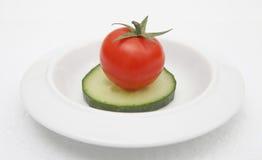 De maaltijd van het dieet Stock Fotografie