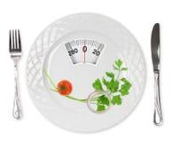De maaltijd van het dieet royalty-vrije stock foto's
