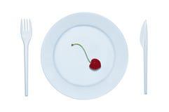 De maaltijd van het dieet royalty-vrije stock afbeelding
