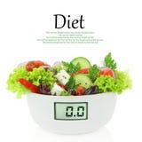 De salade van het dieet Stock Afbeelding