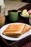 De maaltijd van het ontbijt Stock Foto's