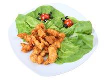 De maaltijd van kinderen Stock Foto's