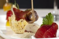 De maaltijd van sushi Stock Afbeeldingen