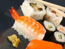 De maaltijd van sushi Royalty-vrije Stock Foto