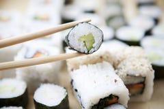 De maaltijd van sushi Royalty-vrije Stock Fotografie