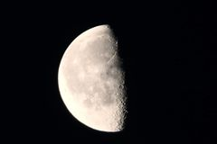 De maan Stock Fotografie