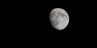 De Maan met Ruimtethrids Stock Afbeeldingen