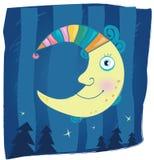 De maan van de fantasie royalty-vrije illustratie