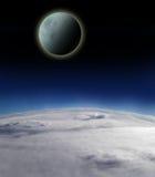 De maan van de nacht royalty-vrije stock foto's