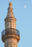De maan van de Ramadan Stock Foto