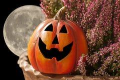 De maan van Halloween Royalty-vrije Stock Afbeeldingen