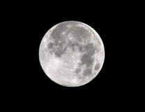 De maan volledige frame van de oogst malibu, Californië 2011 Royalty-vrije Stock Foto