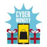 De Maandag van Cyber Royalty-vrije Stock Foto's