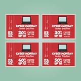 De Maandag van Cyber Royalty-vrije Stock Afbeelding