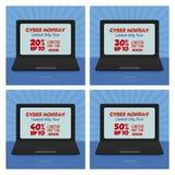 De Maandag van Cyber Royalty-vrije Stock Foto